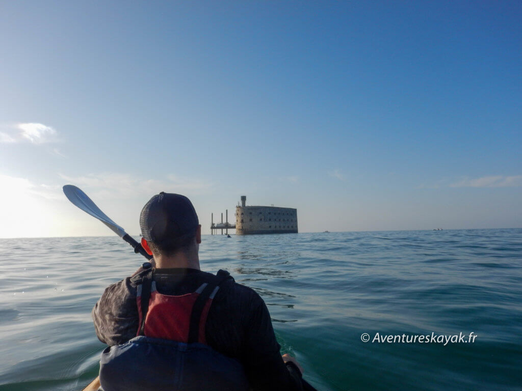 fort boyard en kayak